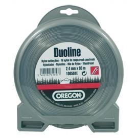 Fil Duoline ø3.0 mm OREGON pour débroussailleuse