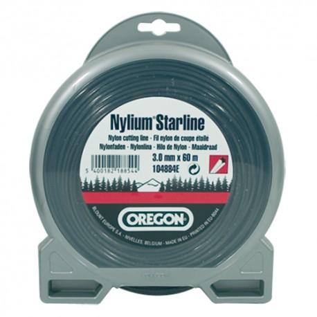 Fil Nylium ø3.0 mm OREGON pour débroussailleuse