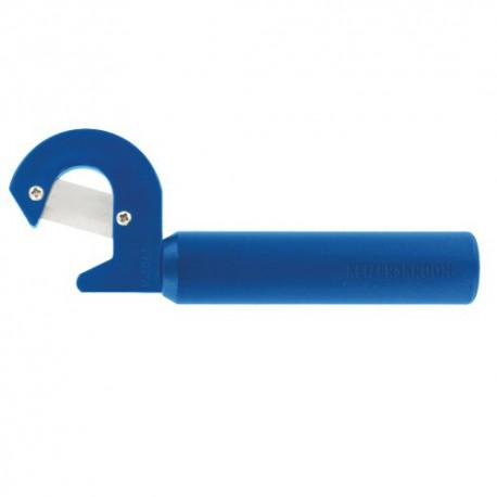 Leaf-cutter METALLO bleu avec 50 lames de rechange