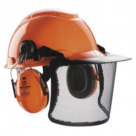 Casque forestier complet 3M™ PELTOR