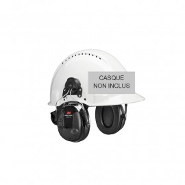 Coquilles PELTOR™ ProTac™ III par 3M™ version Slim noir - Attache casque