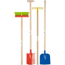 Set jardinage Enfant 8 (4 outils)