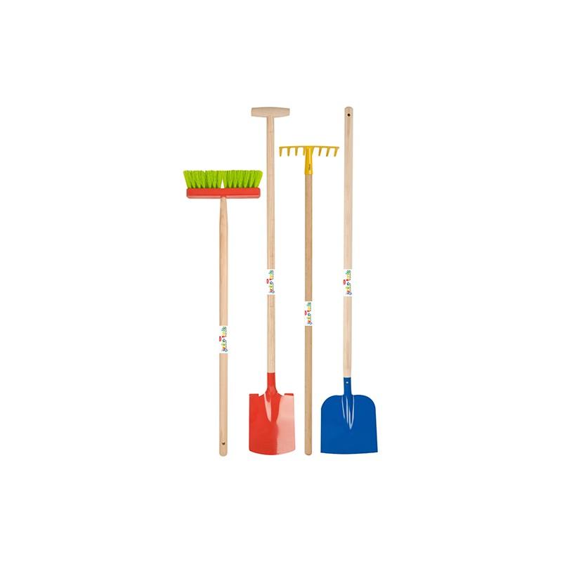 Pack des petits jardiniers (4 outils)