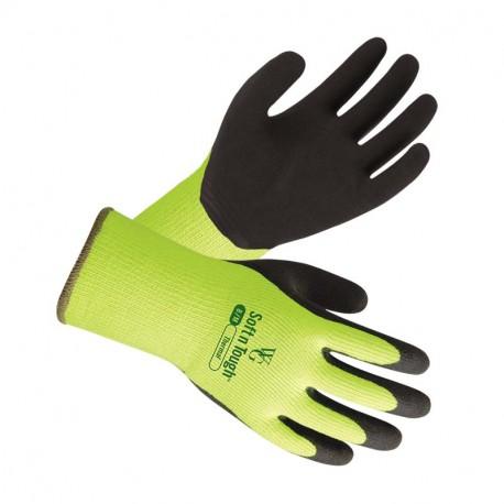 Gants de jardinage Thermique Hiver (jaune)