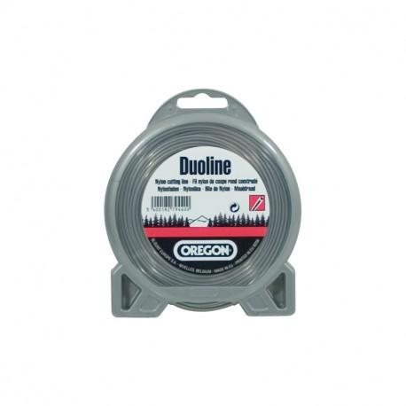 Fil débroussailleuse OREGON rond Duoline 2.7 mm