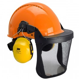 Combinaison G3000 Uvicator orange / basane cuir / coquilles Optime II