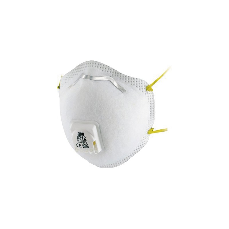 Masque FFP1 NR D avec soupape Cool Flow™