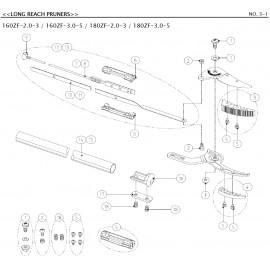 Sécateur long manche ARS 180-300 cm série 180ZF