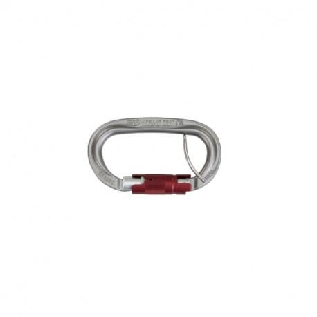 Mousqueton PILLAR PRO TG L ovale (kN 25-12-7) ouverture 21mm Spring fastener