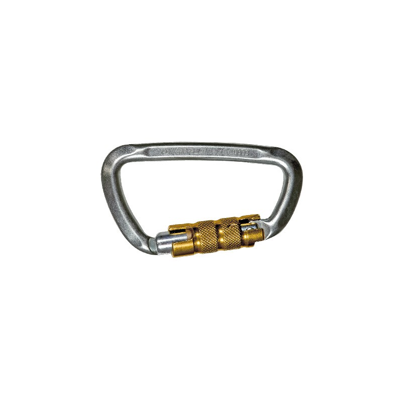 Connecteur D-SHAPE STEEL TG en acier inox. (kN 50-15-15) ouverture 19mm
