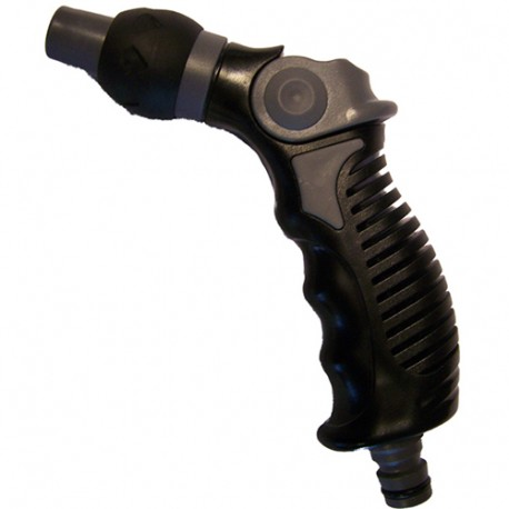 Pistolet bi mat réglable softface blister