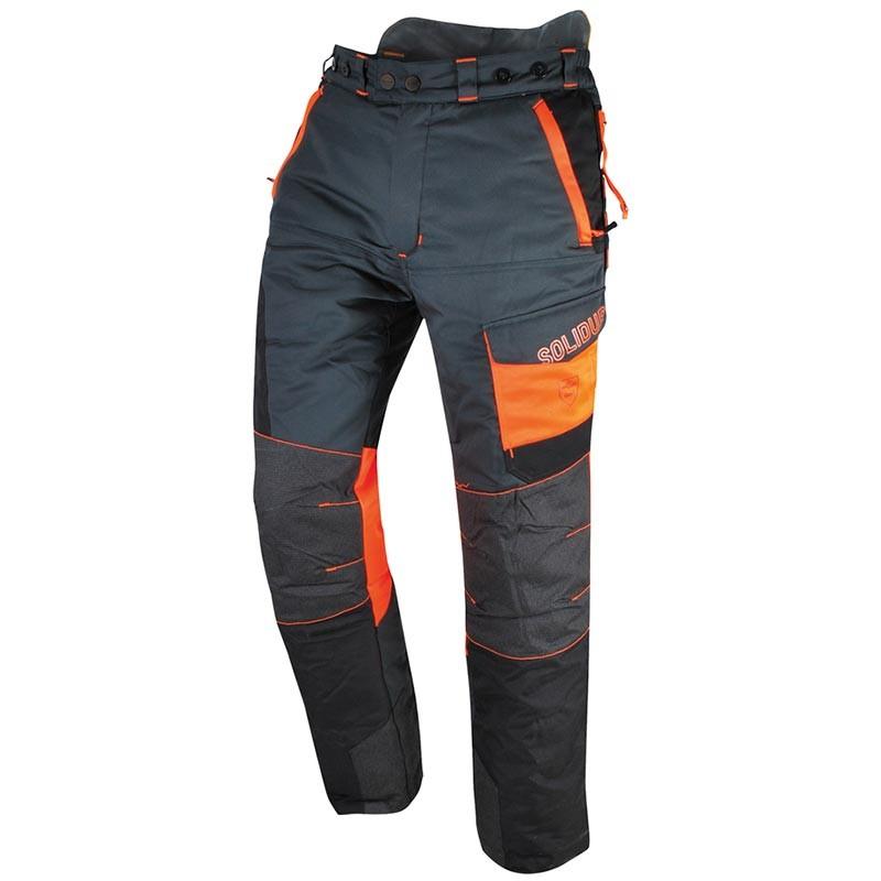 Pantalon SOLIDUR gris et orange Comfy