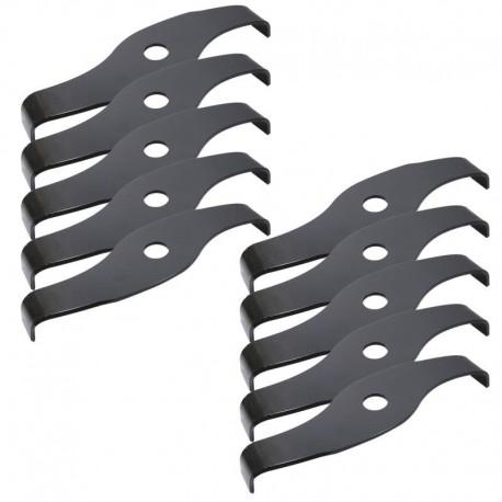 Couteau STIHL duro broyeur largeur 320 mm (boîte de 10) (d'origine)