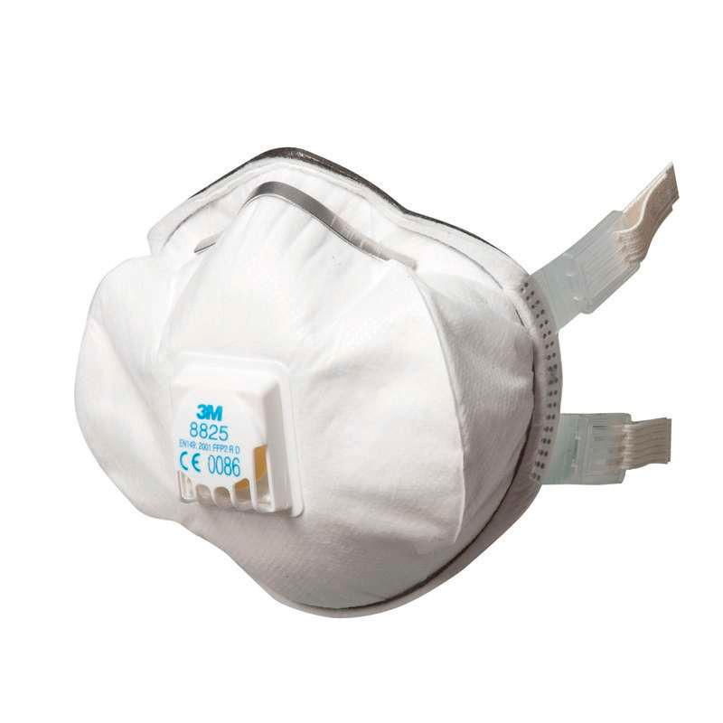 Masque 3M™ coque FFP2 R D avec soupape Cool Flow™