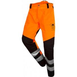 """Pantalon """"anti-coupure"""" Basepro SIP Haute visibilité Orange"""