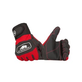 Gants 'anti-coupures' gauche Classe 1 rouge et noir SIP Protection