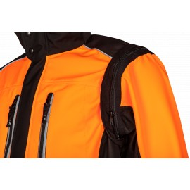 Veste softshell FUYU Thermo Orange SIP Protection