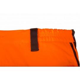 Pantalon 'anti-coupure' Basepro SIP Haute visibilité Orange