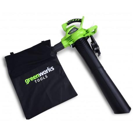Souffleur / Aspirateur / Broyeur à batterie 40v Greenworks