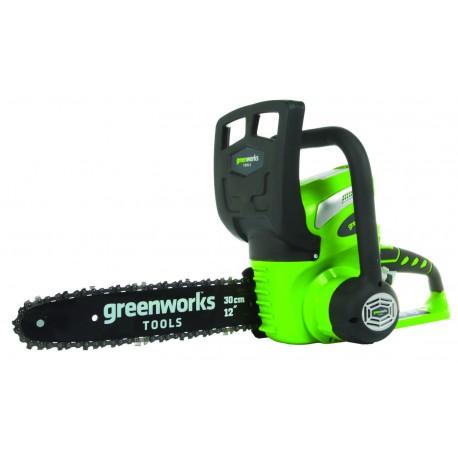Tronçonneuse à batterie 40v Greenworks