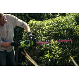 Taille-haies 61cm à batterie 40V - Greenworks