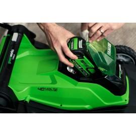 Tondeuse 41cm à batterie 40V - Greenworks
