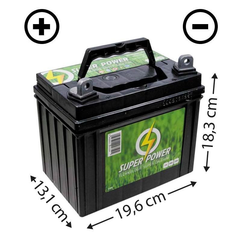 Batterie sans entretien 12V - 32Ah (U1L32) + à gauche