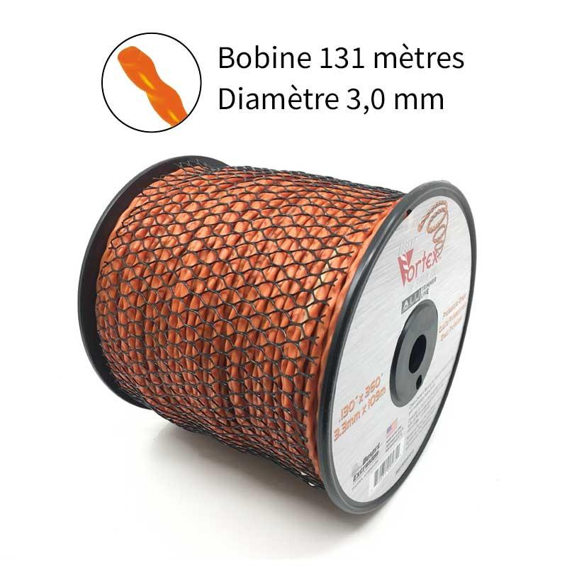 NOUVEAU Fil Vortex avec alu diam. 3.0mm pour débroussailleuse