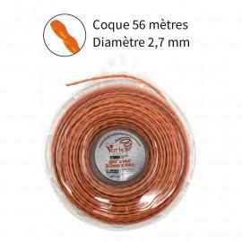 NOUVEAU Fil Vortex avec alu ø2.7 mm pour débroussailleuse