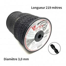 Bobine fil nylon Vortex (219,5 m) diam. : 3,0 mm