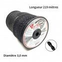 Bobine fil nylon Vortex (219,5 m) ø : 3,0 mm