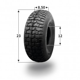 Pneumatique 23x8.50-12 (4 plis) tubeless