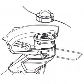 Recharge de fil (pack de 3) pour coupe-bordure 2105407