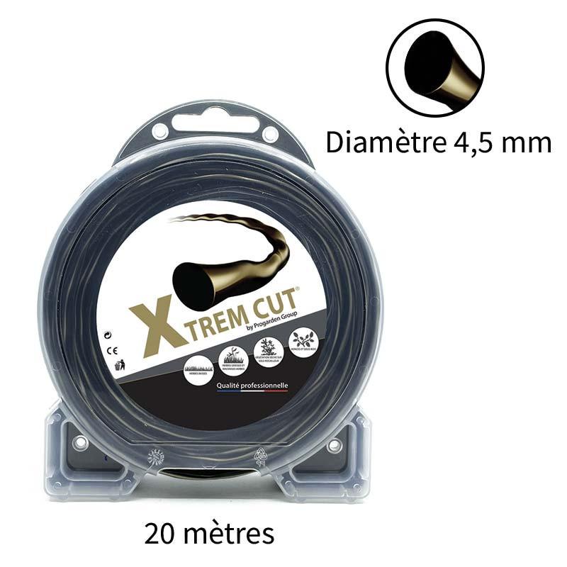 Fil de débroussailleuse Xtrem Cut 4.5 mm