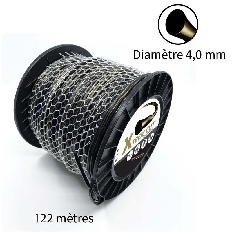 Fil de débroussailleuse Xtrem Cut 4.0 mm