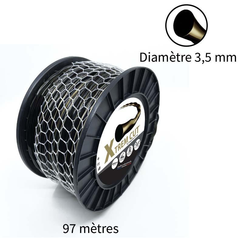 Fil de débroussailleuse Xtrem Cut 3.5 mm
