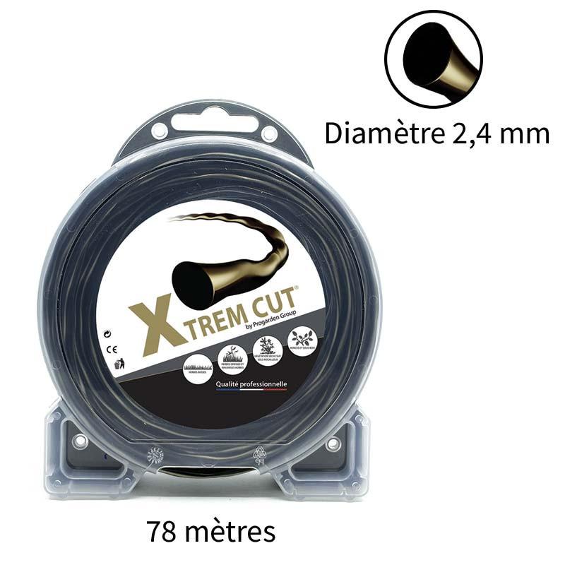 Fil de débroussailleuse Xtrem Cut 2.4 mm