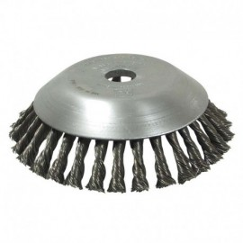 Tête de débroussailleuse brosse métallique