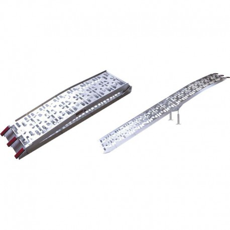 Rampe en aluminium pliable pour transport