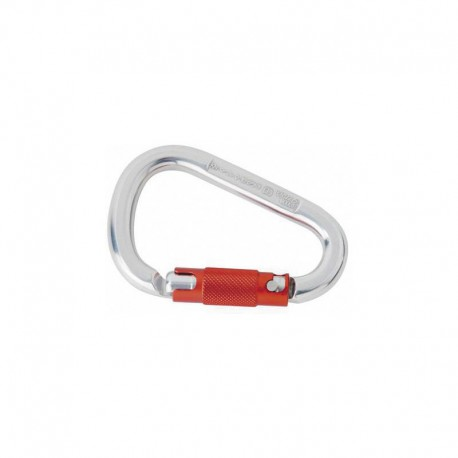 Frelon mousqueton MILLER triple action aluminium ouverture 23mm