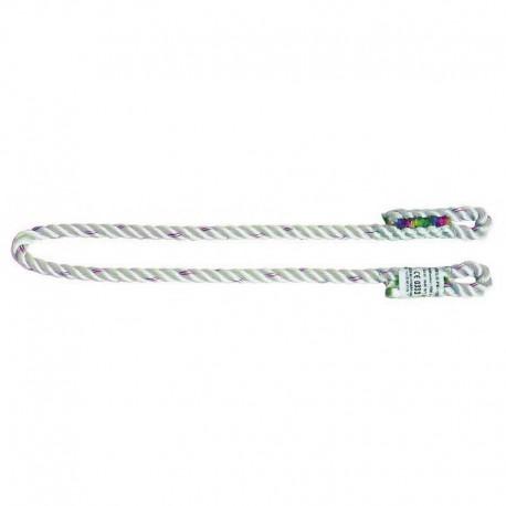 Nœud prussik ANTEC drisse 2 boucles cousues ø 10 mm