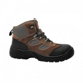 Chaussures de sécurité SOLIDUR marron Rallye