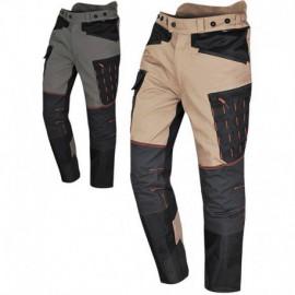Pantalon SOLIDUR beige et noir Handy