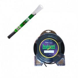 Fil nylsaw ø4.5 mm pour débroussailleuse