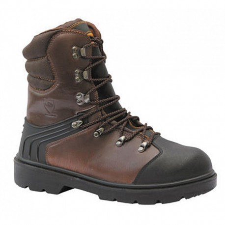 "Chaussures SOLIDUR dites ""anti-coupure"" (marron) Eiger"