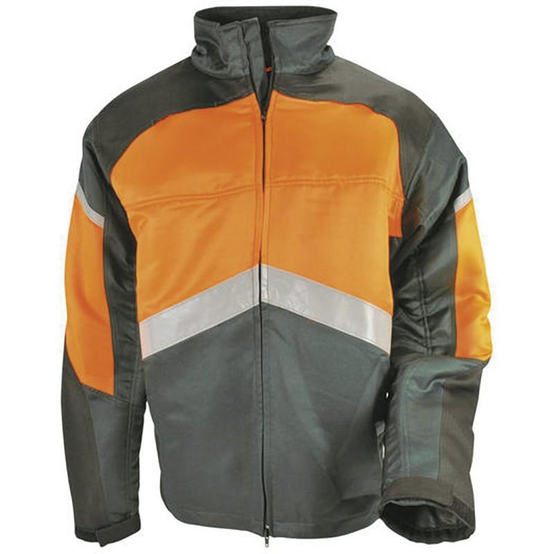 """Veste SOLIDUR dite """"anti-coupure"""" (gris et orange) Authentic"""