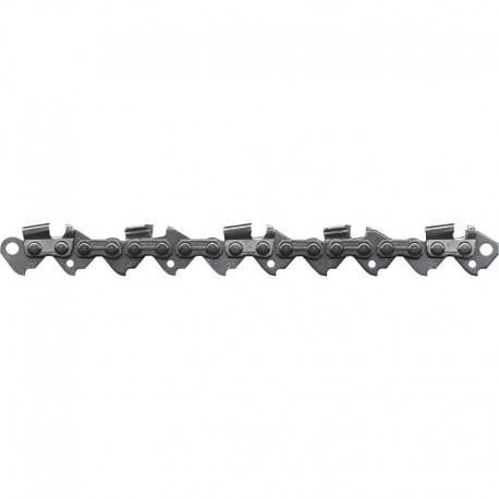 Chaîne coupée OREGON pour tronçonneuses (Low Profile demi ronde 3/8 1.3 mm 52 maillons)