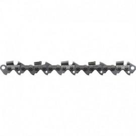 Chaîne coupée OREGON pour tronçonneuses (Low Profile demi ronde 3/8 1.3 mm 53 maillons)