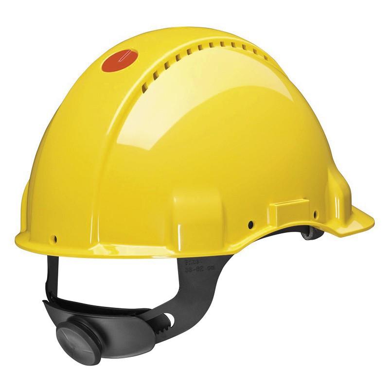 Casque de sécurité 3M™ G3000 ventilé avec technologie Uvicator