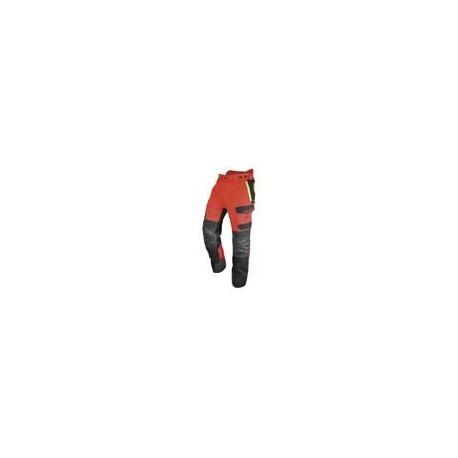 Pantalons de protection pour l'utilisation d'une tronçonneuse